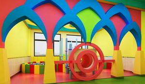 现代风格创意幼儿园环境布置装修效果图