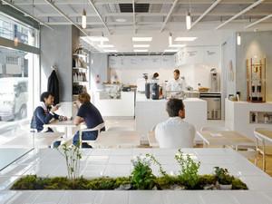 90平米现代简约风格咖啡厅装修效果图鉴赏