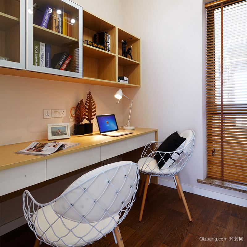 84平米北欧风格简约两室两厅室内装修效果图赏析