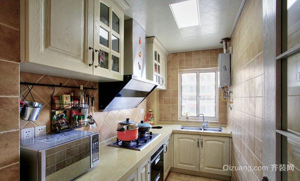 99平米精致地中海风格三室两厅室内装修效果图鉴赏