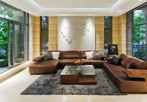 东南亚风格别墅室内客厅装修效果图赏析