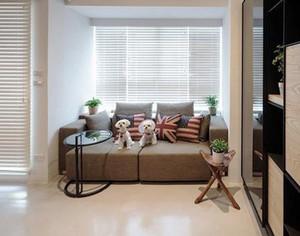 66平米后现代风格精装单身公寓装修效果图案例