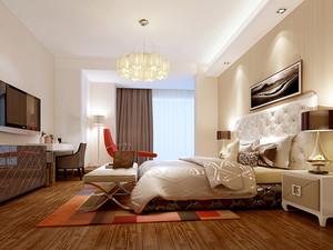 145平米欧式风格简装三室两厅两卫装修效果图