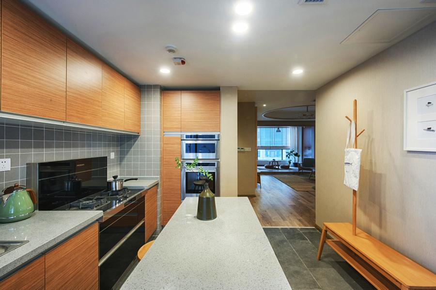 日式风格简约两居室厨房装修效果图赏析