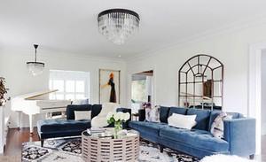 96平米自然北欧风格三室两厅室内装修效果图欣赏