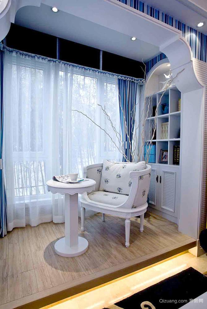 100平米地中海风格清爽自然室内装修效果图赏析
