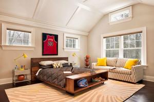 美式风格别墅室内温馨儿童房装修效果图