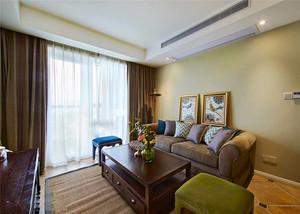 169平米美式风格精致复式楼室内装修效果图案例