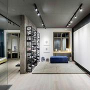 现代简约风格大户型卧室隔断设计装修效果图赏析