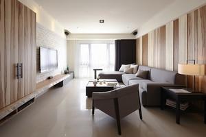 88平米现代风格简装两室两厅室内装修效果图赏析