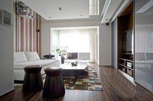 现代风格精装客厅装修效果图个赏析