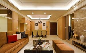70平米现代风格简约室内两室一厅装修效果图赏析