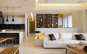 120平米现代风格简装室内装修效果图案例