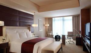 新中式风格宾馆客房装修效果图赏析