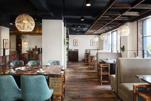 88平米混搭风格精致餐厅装修效果图欣赏