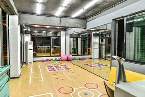 190平米现代简约风格健身房装修效果图赏析