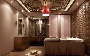 中式风格美容院包厢设计装修效果图赏析