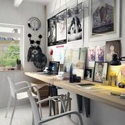 北欧风格简约小书房装修效果图赏析