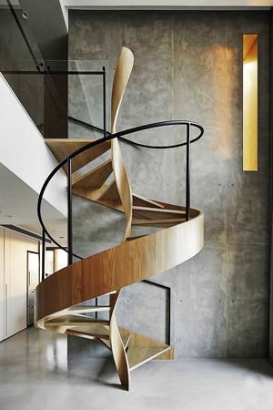 后现代风格时尚创意旋转楼梯装修效果图