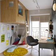 12平米现代简约风格创意儿童房装修效果图