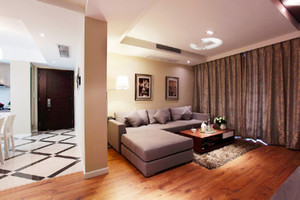 93平米简欧风格精致婚房装修效果图案例