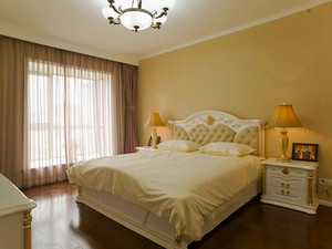 142平米简欧风格三室两厅两卫装修效果图案例