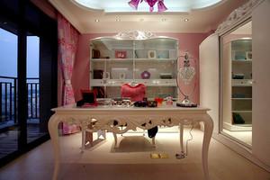 155平米浪漫法式风格大户型室内装修效果图案例