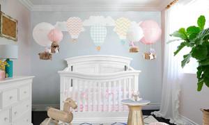 简欧风格温馨简约婴儿房设计装修效果图赏析
