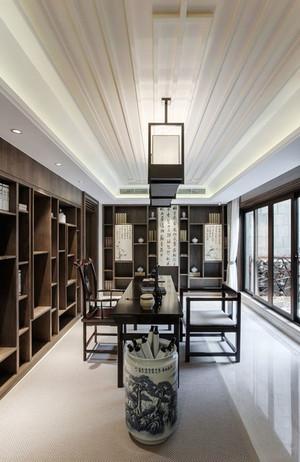 中式风格别墅室内简约雅韵书房装修效果图