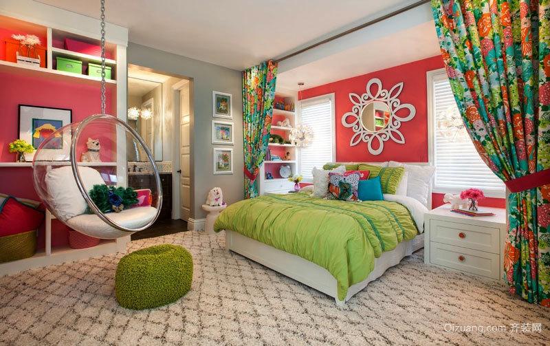 时尚个性混搭风格儿童房装修效果图赏析