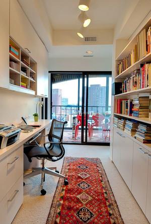 现代风格精致大户型书房装修效果图赏析