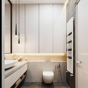 现代风格简约小卫生间装修效果图赏析