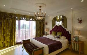 法式风格大户型室内精致卧室装修效果图赏析