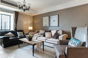 74平米混搭风格一居室装修效果图赏析