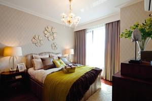 美式风格精致主卧室装修效果图赏析