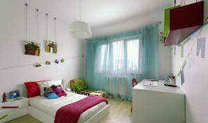 现代简约风格两居室儿童房装修效果图赏析