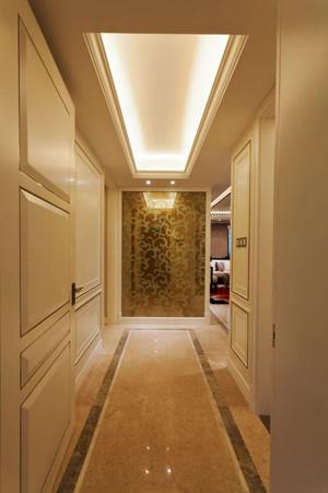 欧式风格精致三居室室内玄关设计装修效果图