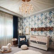 美式风格大户型室内精致婴儿房装修效果图