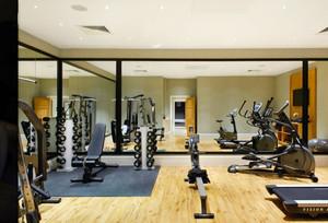 130平米后现代风格健身房装修效果图赏析