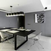 后现代风格两居室餐厅装修效果图赏析
