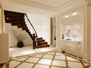 简欧风格精致创意复式楼梯装修效果图赏析