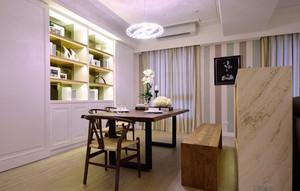 简约美式风格精美餐厅吊灯设计装修效果图赏析