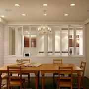 简约美式风格大户型室内餐厅装修效果图赏析