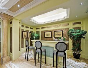 欧式风格精致室内吧台装修效果图鉴赏