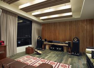 120平米现代风格精装室内装修效果图赏析
