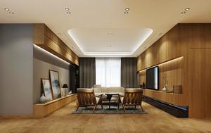 80平米新中式风格简装室内装修效果图欣赏