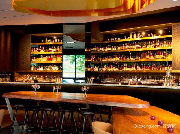 复古风格怀旧主题酒吧装修效果图赏析