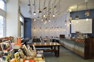 60平米美式风格咖啡厅装修效果图赏析