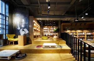 80平米日式风格书店装修效果图欣赏