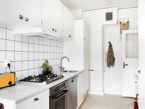 北欧风格小户型整体厨房装修效果图赏析